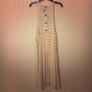 NWT👍🏼Urban Outfitters plaid checkered midi dress